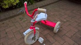Pink Tricycle and tilt turn scooter bundle