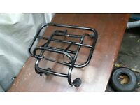 Vespa / lamberetta / moped fold up luggage rack