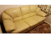Sofa with cream color