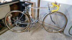 Vélo de course royce union bleu 12 vitesses roues 27po cadre 21po (peinture abîmé)