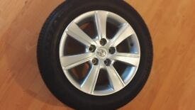 Toyota verso 16inch Alloy wheel and tyre