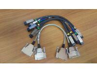 Job 6 new Cisco Stack cables 37-1122-01, 72-2632-01