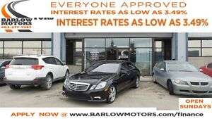 2011 Mercedes-Benz E-Class E350 4MATIC *EVERYONE APPROVED* APPLY
