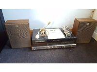 Vintage Sony HMK-20 Music System - Record Cassette Hi Fi - Original Box Inc