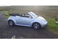 vw Beetle convertible 55 plate 60k miles £3000 ono may px .