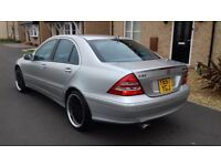 Mercedes benz c320 avangarde amg bargin £1000
