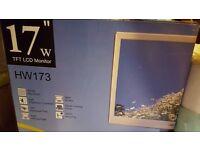 """HANS-G 17"""" W TFT LCD Monitor"""