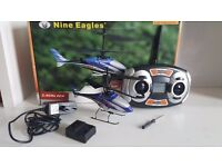 RC Nine Eagles Helicopter for sale £50 or make an offer :)