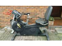 Recumbent bike by pulse