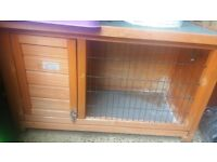 3ft hutch and rain cover