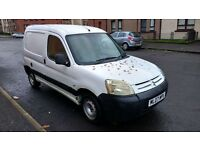 citroen berlingo 600 hdi lx 1.6 turbo diesel 2007 07 plate