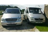 Mercedes-Benz, sprinter, recovery truck, tilt and slide,