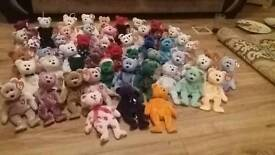 Ty bears collection