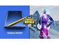 Galaxy Note 9 Free Fortnite Skin