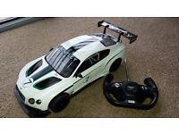 Remote control Bentley car