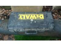 Dewalt 10kg breaker box and chisels