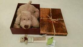 Teddy Bear Gift Set with Book marker