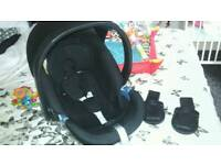 Mamas and papas cybex car seat with isofix base
