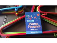 Childrens pack of 10 coathangers. Brand new