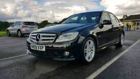 Mercedes-Benz C200 AMG sport - New engine just fitted by Mercedes-Benz of Southampton