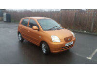 2005(05)KIA PICANTO 1.1LX MET ORANGE,LOW MILES,2 OWNER,CLEAN CAR,GREAT VALUE