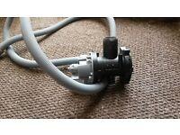 hotpoint ultima washing machine wmd740 drain pump assembly unit