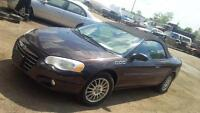 "2004 Chrysler Sebring Convertible ""MINT"""