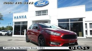 2016 Ford Focus *NEW* HATCHBACK SE *201A* AUTO *SE PLUS PACKAGE*