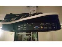 Optoma HD200X 1080p Full HD Home Cinema Projector, Screen, mounts and Cables