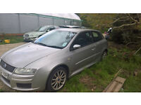 breaking fiat stilo silver all parts available