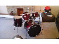 Tornado Mapex drum kit