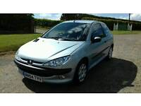 2005 Peugeot 206 1.4 petrol 79.000 miles 12 months mot free warranty included