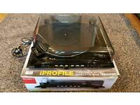 Ion iprofile vinyl turntable