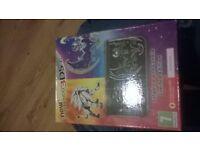 nintendo 3ds xl pokemon edition black like new