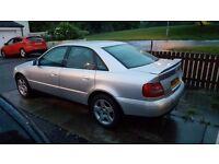 Car swap AUDI A4 QUATTRO 2.8 V6
