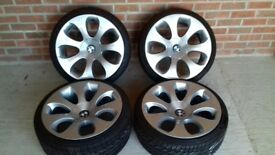 BMW 19inch alloy wheels and tyres