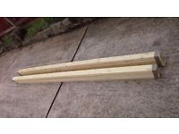 "Fencing boards timber 3"" x 5ft & 6ft"