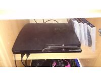Ps3 500gb with games and headset