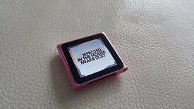 Apple iPod Nano 6th Generation 8GB Pink
