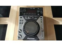 pioneer cdj 400 in mint condition with usb input