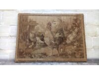 Large French antique tapestry