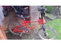 Boys bmx bike suitable for age 5-6.