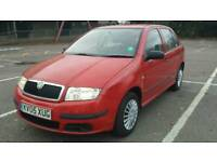 Skoda Fabia Facelift 1.2 HTP Classic 5dr 2005year Long Mot Excellent Runner Cheap to Maintain