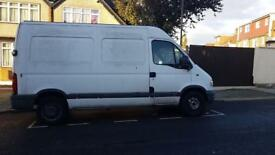 Vauxhall Movano white color very good condition and low mileage