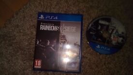 Rainbow siege for ps4