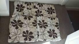 Five Hessian Cushion Covers