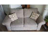 Two seater sofa-very good condition, nearly 1 year old
