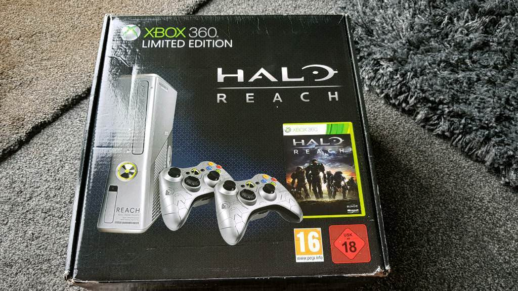 Xbox 360 250gb halo reach edition plus 25 games and kinect | in Coalville,  Leicestershire | Gumtree