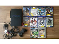 PS2 plus 10 games