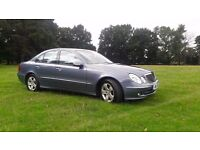 2006 MERCEDES E220 CDI *** 0NLY 54000 MILES + FULL SERVICE HISTORY + 12 MONTHS MOT + 2 OWNER CAR **